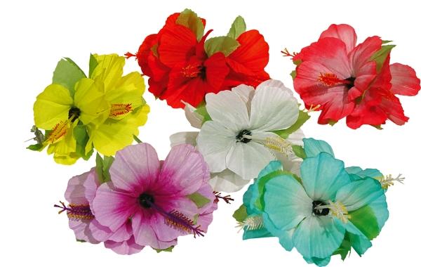 Kwiat na spinki do<br>włosów, różne kolory