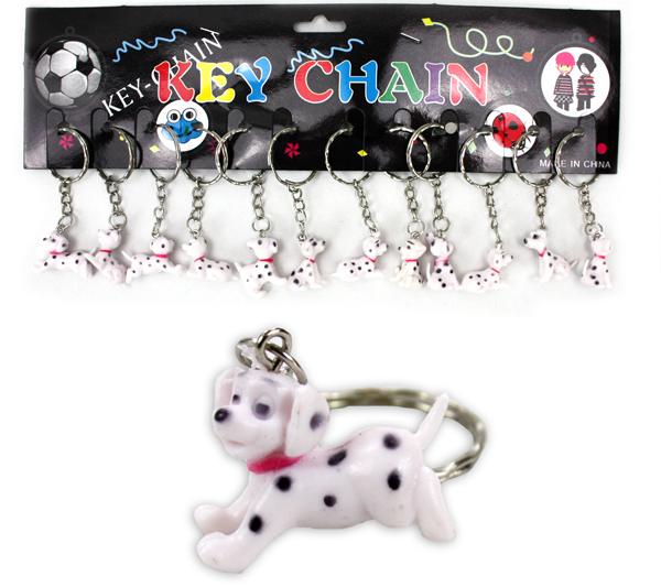 Dalmatiner<br> mehrfach sort - an<br>Schlüsselanhänger -