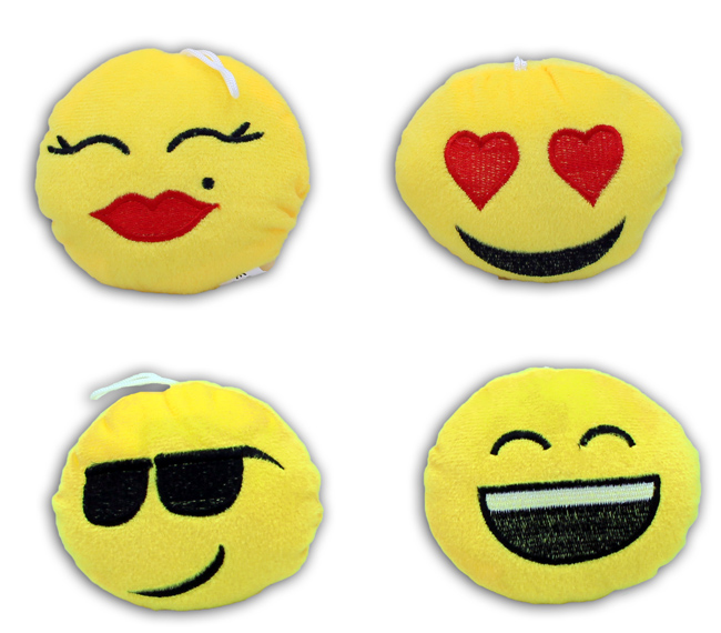Smile Kissen<br> mehrfach sortiert<br>ca 11cm