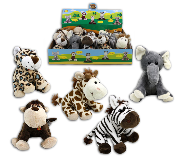 Sorted Plush Toy with Sound 5-fold
