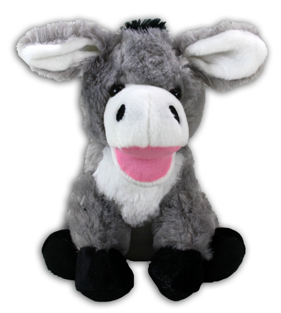 Donkey laughing,<br>sitting about 26cm