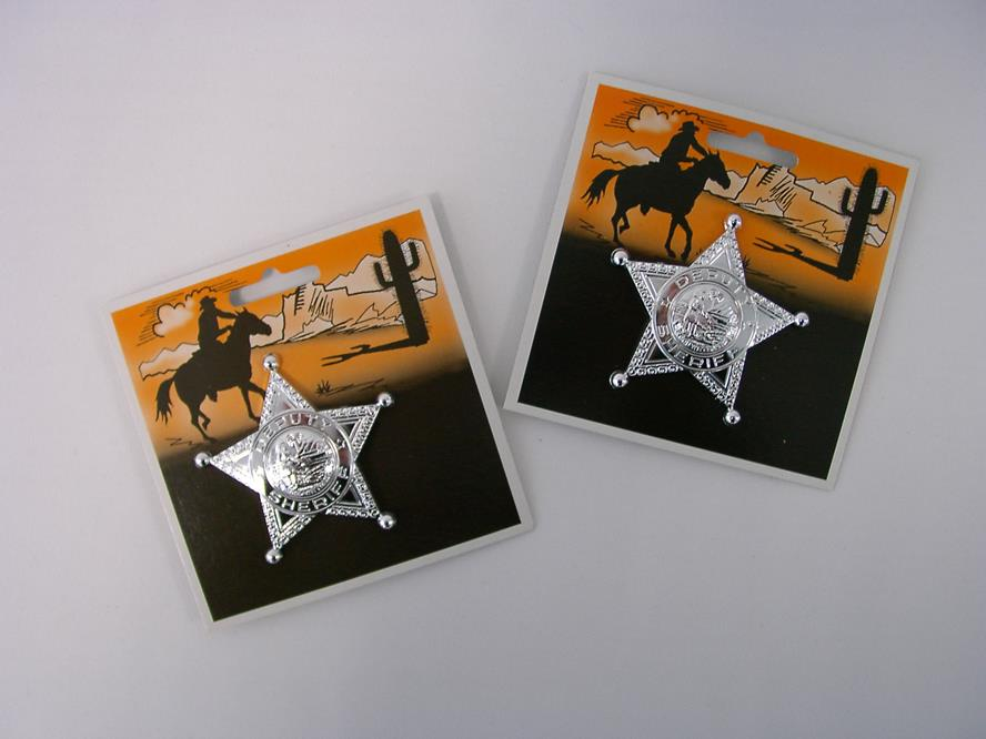 Sheriff star on map