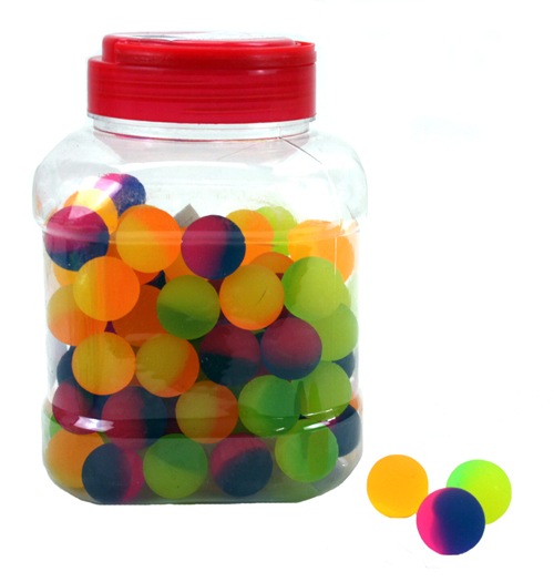 Bouncing assorted<br>colors approx 25 mm