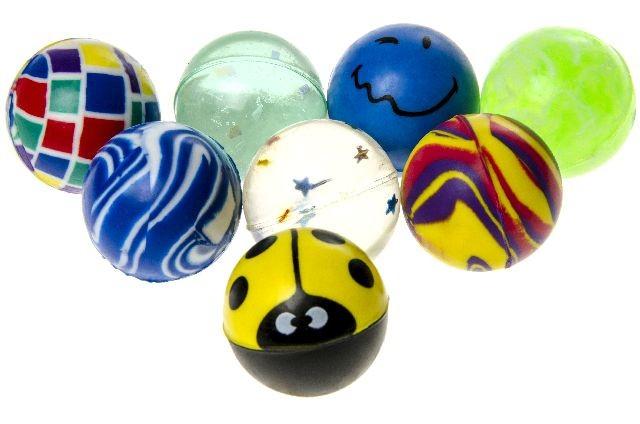 Bouncing Dopsball<br>meng ongeveer 27 mm