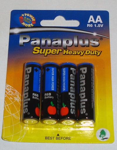 Batterien  AA -Mignon