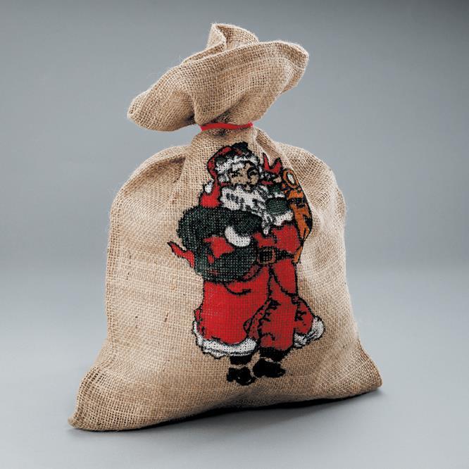 Jute bag printed,<br>35 x 50 cm