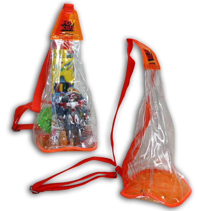 Rucksack Fox Kids<br> mit Tragegurt - ca<br>30x13x13cm