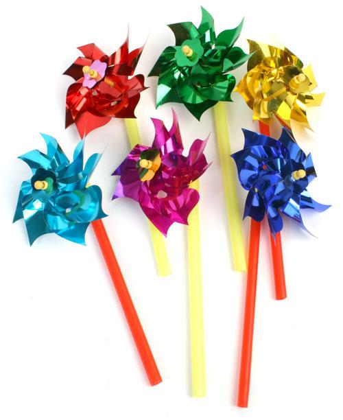 Windrad diverse<br>Farben ca 18 cm