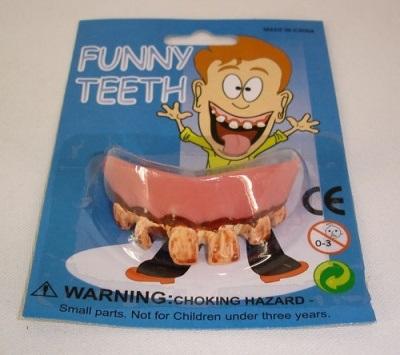 Gebisse- schlechte<br>Zähne sortiert