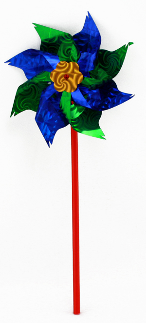 Wind turbine -<br> Assorted Colors ca<br>36 cm
