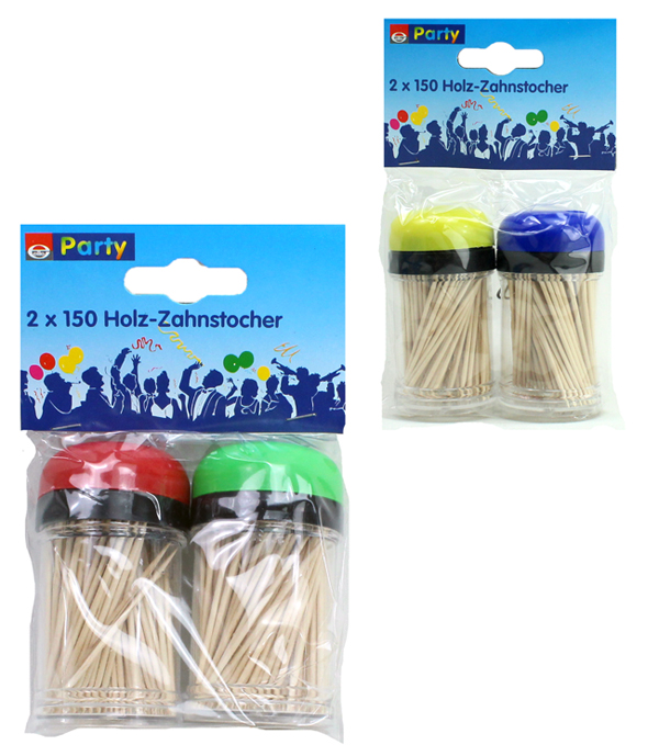 Toothpicks in box<br>150 pieces
