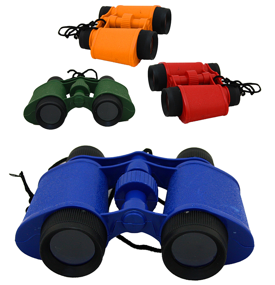 Binoculars 3 assorted - approx 13cm wide
