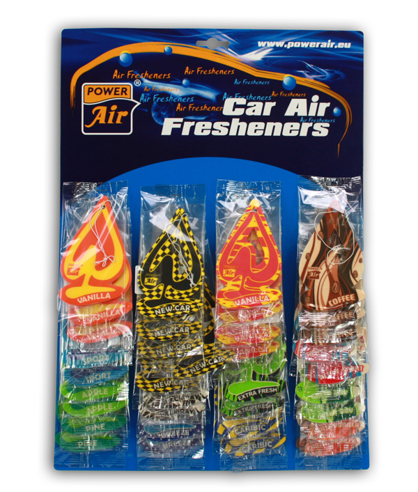 Lufterfrischer in<br> verschiedenen<br>Duftnoten ca 12cm