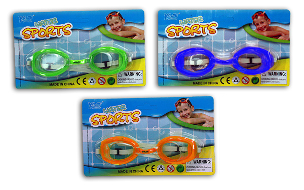 Swimming Goggles 3<br> assorted - approx<br>19x11 on map