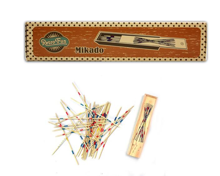 Mikado darab<br> fadobozban 42 - kb<br>20x4, 5x2, 5cm