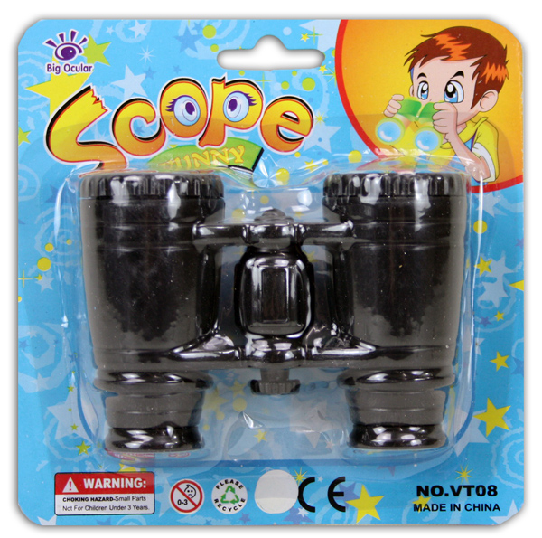 Binoculars for<br> kids on map ca<br>14x14cm