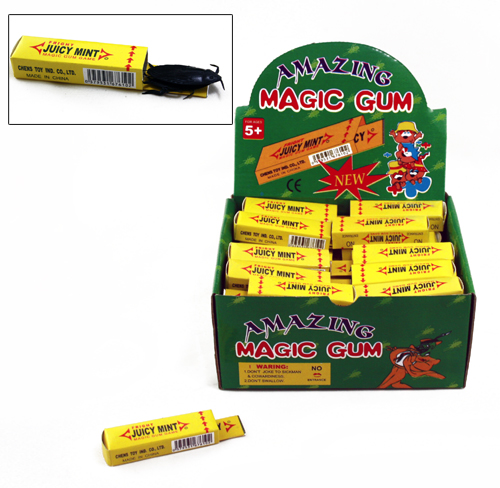Shock chewing gum for children - 9 cm