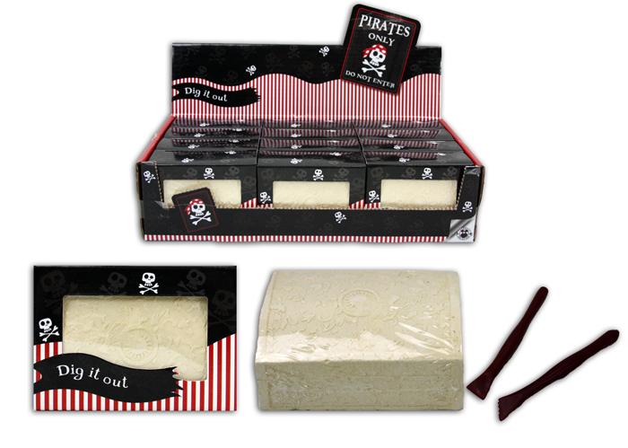 Pirates Dig in Box<br>ca 8,5 x6x3, 5cm