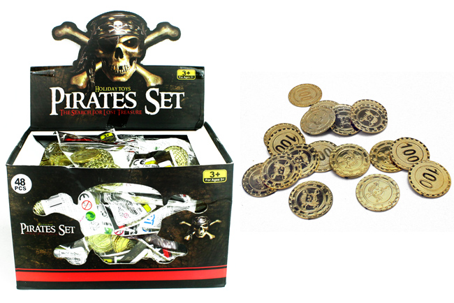 Pirates gold coins 20