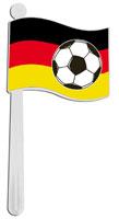 Deutschland Rassel<br>ca 19cm