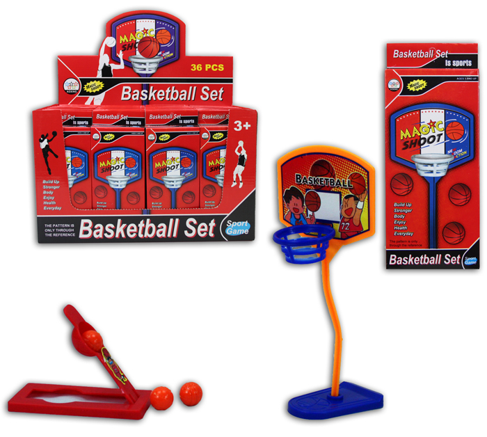 Basketballspiel in Box<br>ca 19x8x2cm