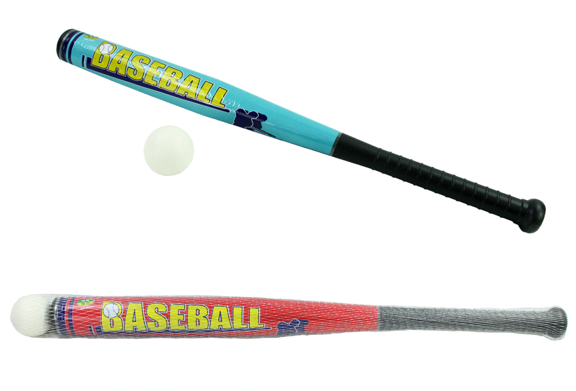 Baseball bat ca 71<br>cm with 6 cm ball
