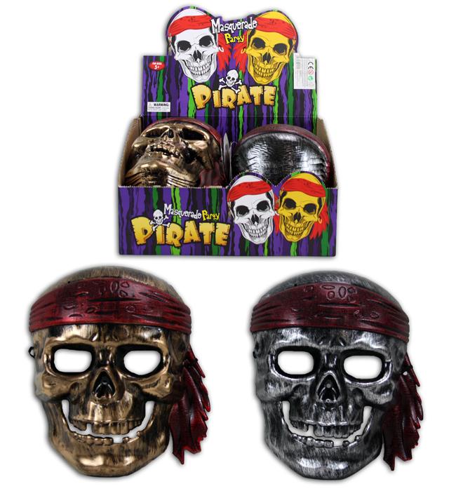 Maske Pirat 2-fach<br>sortiert für Kinder