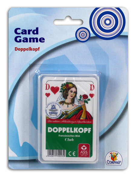 TTC Doppelkopf<br> Kartenspiel auf<br>Karte ca 18x13,5cm