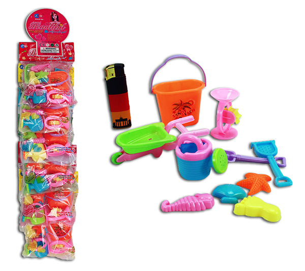 10 Piece Toy Set in a bag - approx 13x13cm