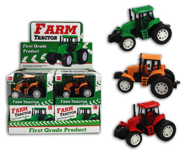 Traktor 3-fach<br> sortiert - in Box<br>- ca 16x10,5x8cm