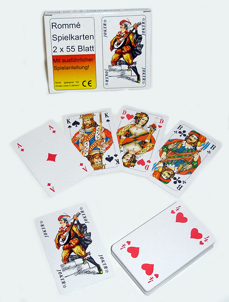 Kártyajáték Römi 2<br>x 52 lapos