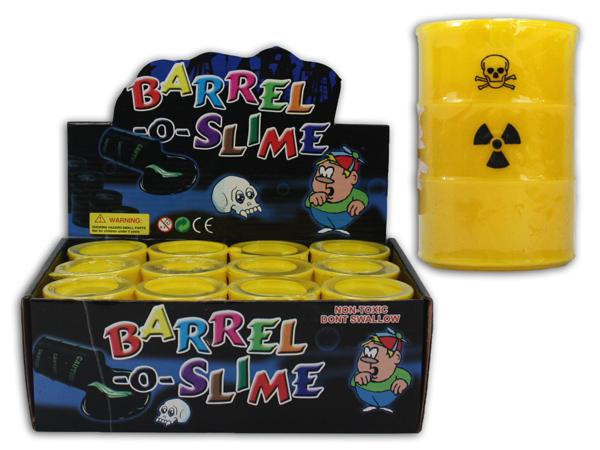 Schleimtonne<br> Atomfaß gelb - ca<br>7,5cm