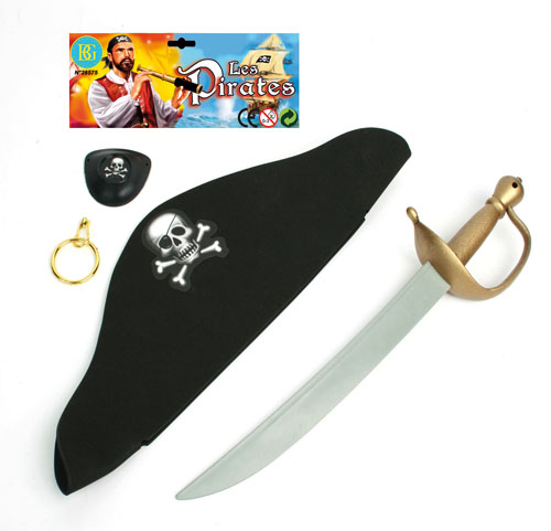 Pirate Set with hat and sword