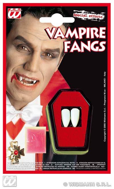 Teeth - vampire<br> teeth on map ca<br>12x19 cm