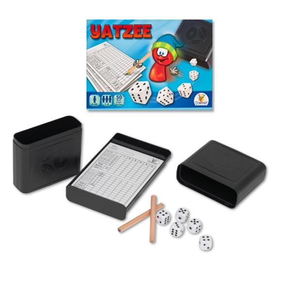 TTC Yatzee játék 2<br> kocka csésze + 2<br>ceruza