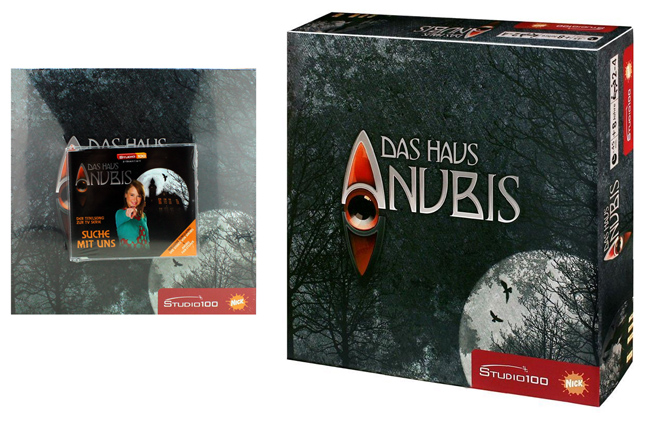 THE HOUSE OF<br>ANUBIS board game