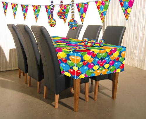 Tischdecke Ballons<br>ca 130 x180 cm