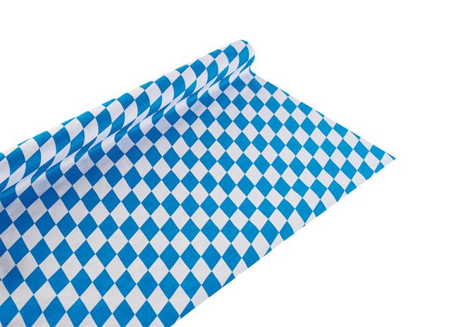 Tischdecke Papier<br> Oktoberfest<br>bayerische Raute - c