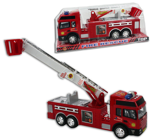 Fire Engine with<br> extendable ladder,<br>approx 29.5 cm