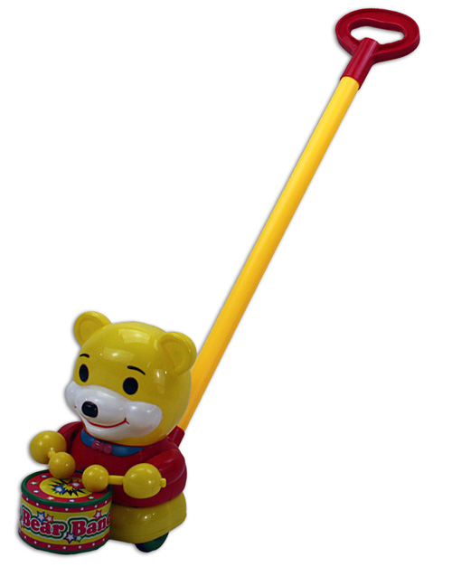 Rod Roller yellow<br>bear - approx 65cm