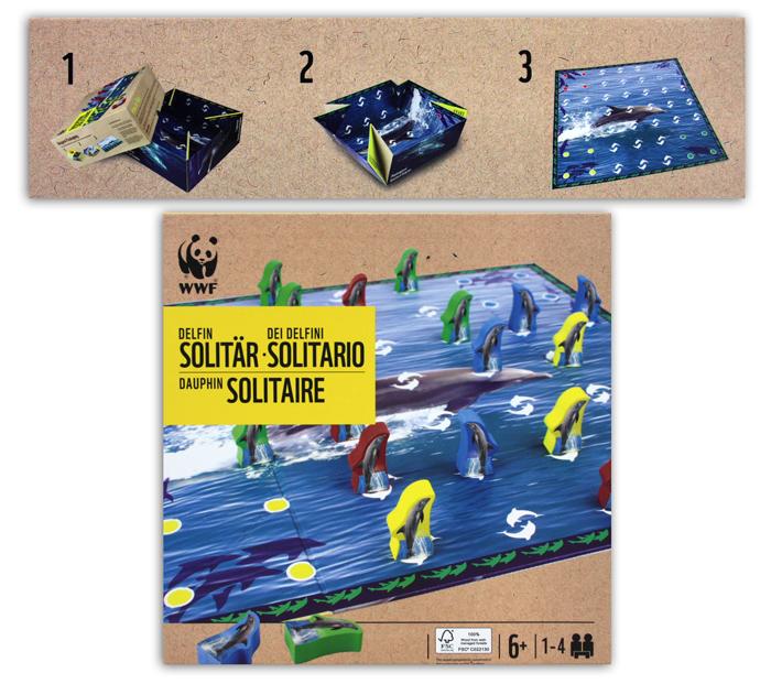 WWF delfin<br> pasziánsz<br> társasjáték ...