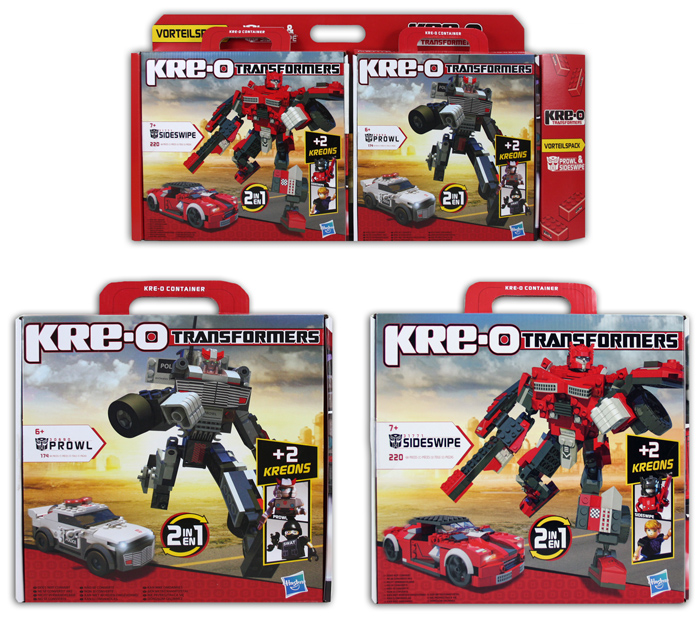 Kre-O Transformers<br> 2 kit-assorted in<br>box