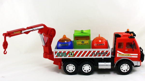 Garbage truck with<br>friction - ca 36 cm