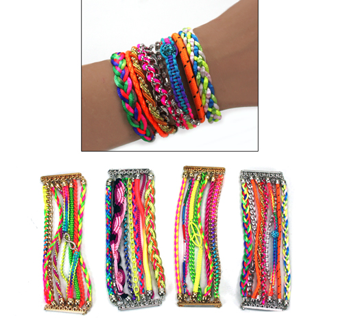 Fashion Bracelet<br> Ibiza-style<br>multiple sort -
