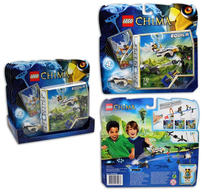 Lego Chima target<br>shooting