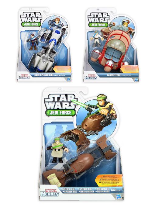 Playskool Heroes<br> Star Wars assorted<br>3-fold