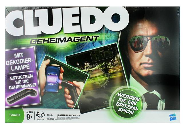 Hasbro Cluedo Go<br>Imma Ghent