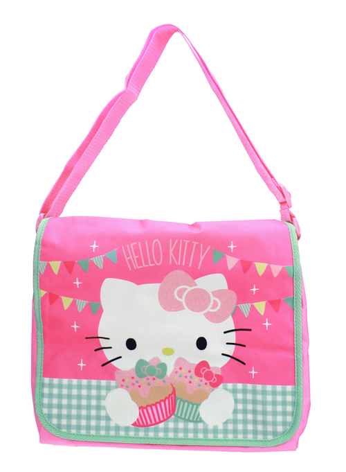 Hello Kitty<br> shoulder bag with<br>glitter