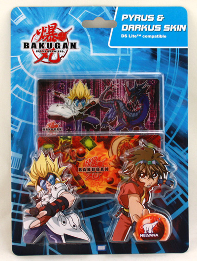 Bakugan Sticker<br> set for Nintendo<br>DS Lite