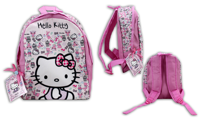 Hello Kitty Woodland Rucksack - ca 30x25x10cm